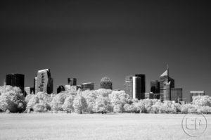 Esplanade Photo - Vue sur la Défense en infrarouge 10
